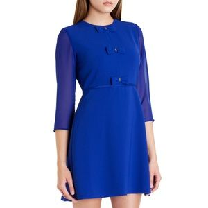 Ted Baker Finna Bow Detail Dress